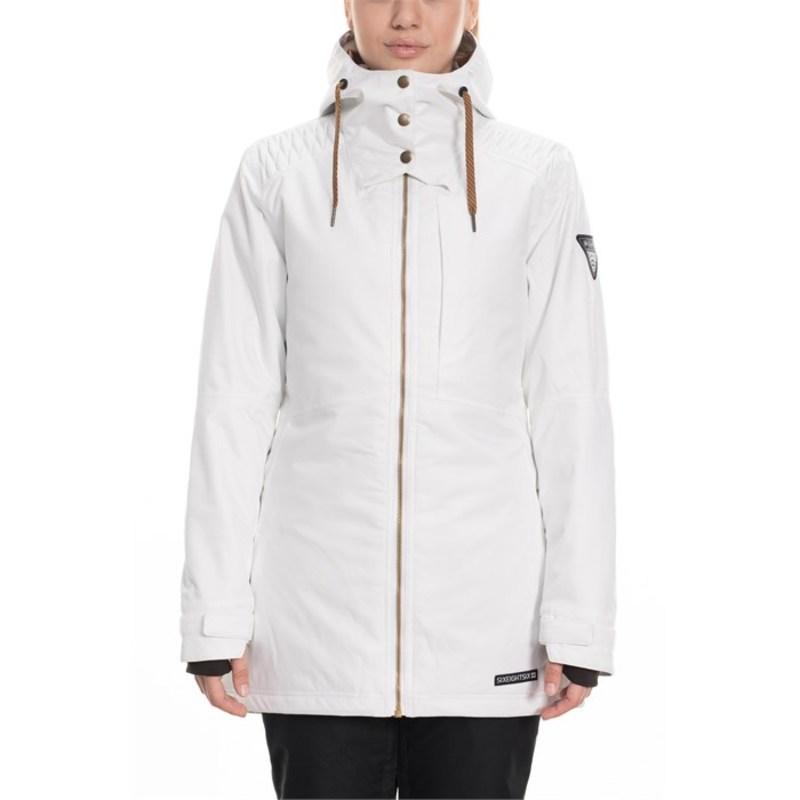 シックスエイトシックス レディース ジャケット・ブルゾン アウター 686 Aeon Insulated Jacket - Women's White Dobby