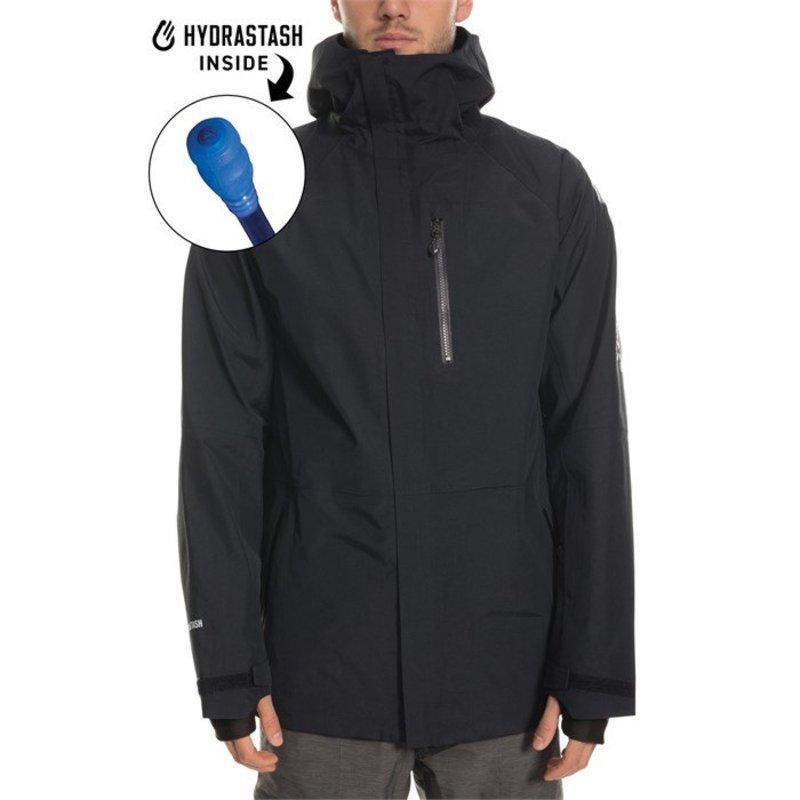 シックスエイトシックス メンズ ジャケット・ブルゾン アウター 686 GORE-TEX Hydrastash Sync Jacket Black