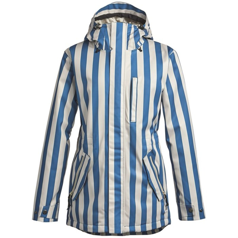 エアブラスター レディース ジャケット・ブルゾン アウター Airblaster Nicolette Jacket - Women's Vintage Stripe