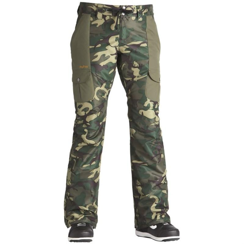 エアブラスター レディース カジュアルパンツ ボトムス Airblaster Stay Wild Pants - Women's OG Dinoflage