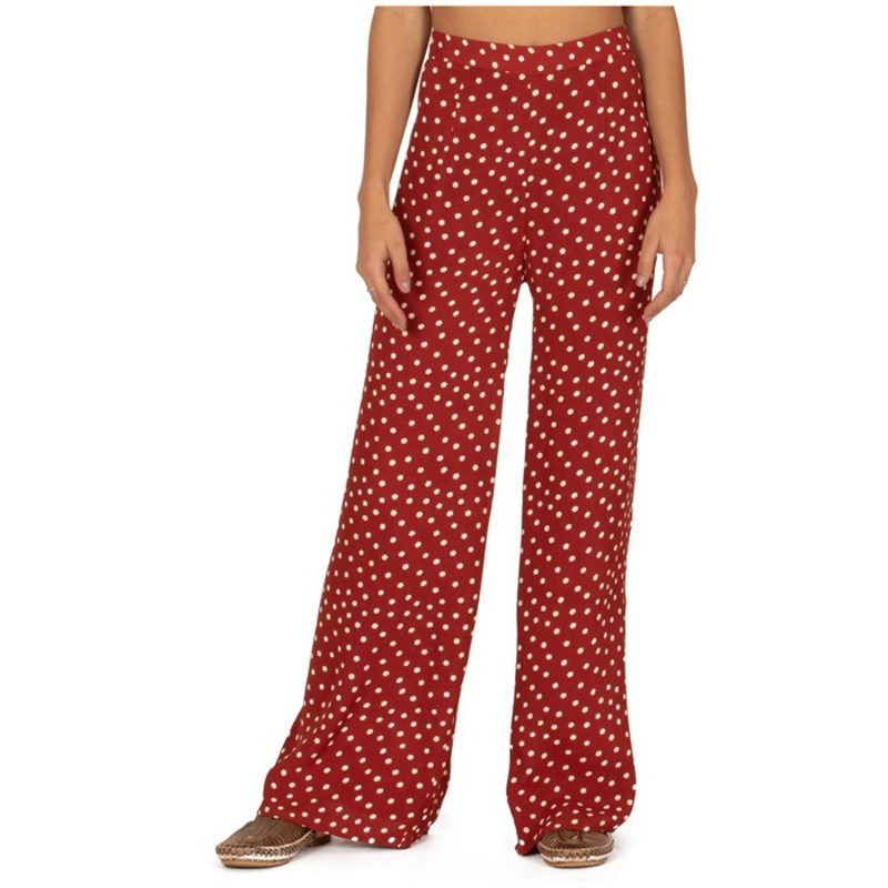 アミューズソサエティ レディース カジュアルパンツ ボトムス Amuse Society Bright Side Pants - Women's Rouge
