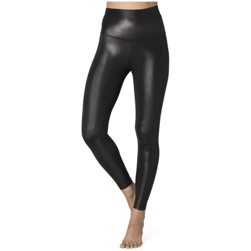 ビヨンドヨガ レディース カジュアルパンツ ボトムス Beyond Yoga Pearlized High-Waisted Midi Leggings - Women's Black