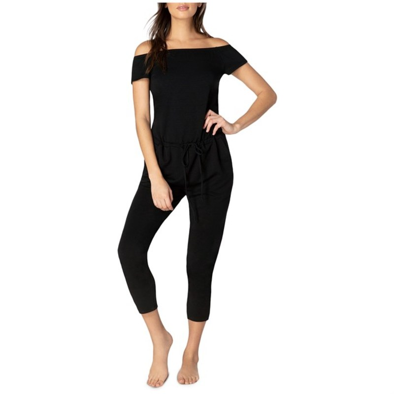 Black Victory Jumpsuit Yoga - Women's ビヨンドヨガ レディース Beyond ボトムス カジュアルパンツ Midi
