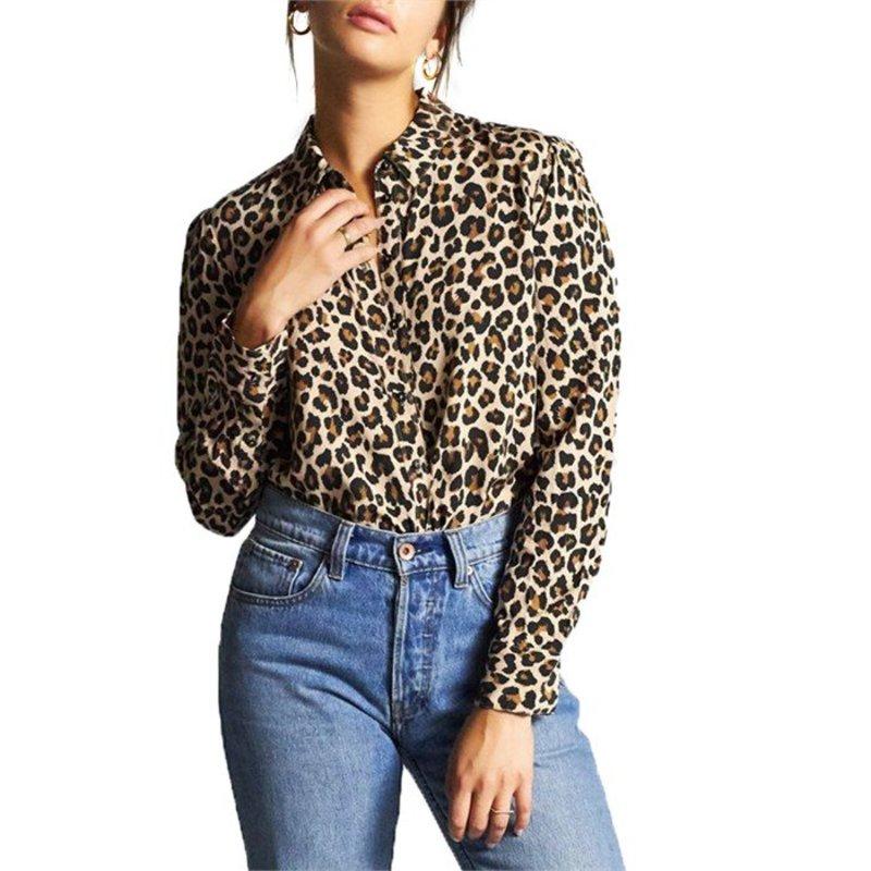 ブリクストン レディース シャツ トップス Brixton Kate Shirt - Women's Leopard