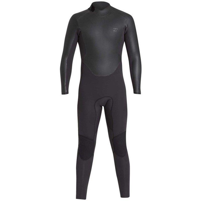 ビラボン メンズ 上下セット 水着 Billabong 3/2 Revolution Ninja Zip Wetsuit Black