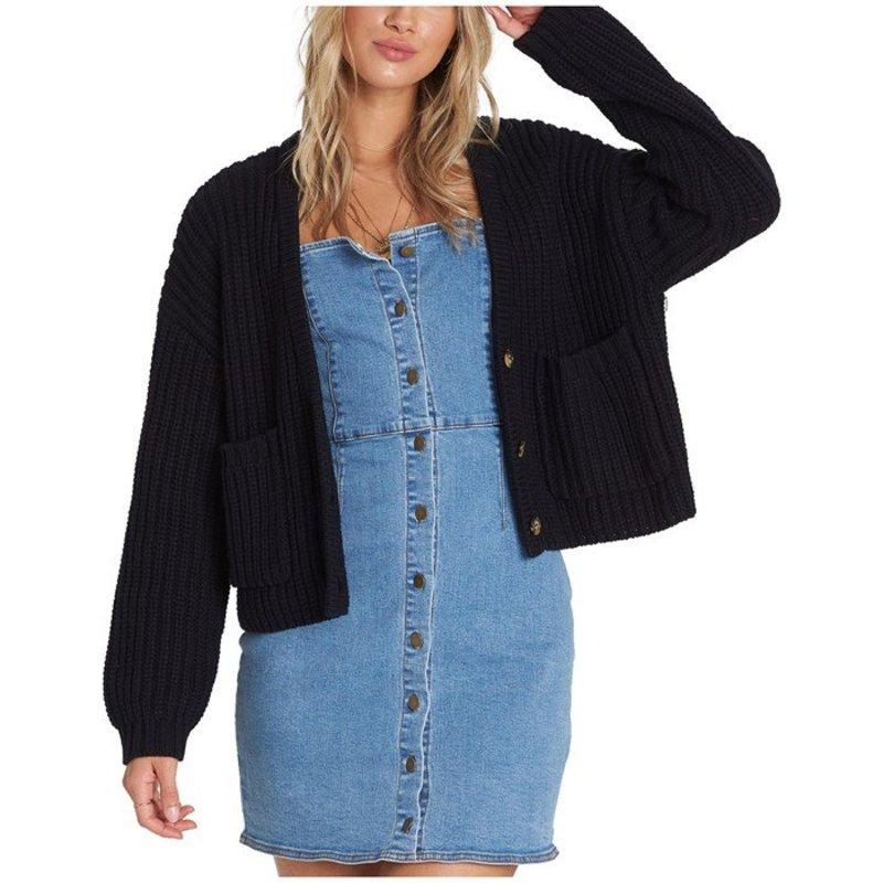 ビラボン レディース ニット・セーター アウター Billabong Cali Nights Sweater - Women's Black
