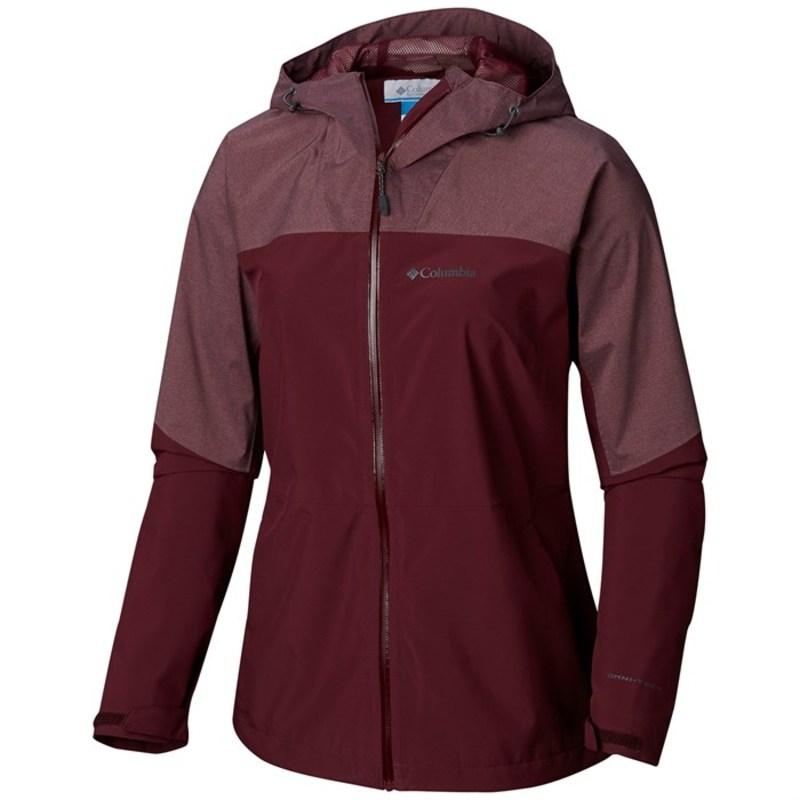 コロンビア レディース ジャケット・ブルゾン アウター Columbia Evolution Valley II Jacket - Women's Deep Madeira, Deep Madeira Heather