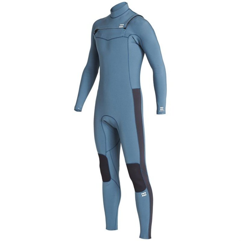 ビラボン メンズ 上下セット 水着 Billabong 4/3 Revolution Chest Zip GBS Wetsuit Cascade Blue