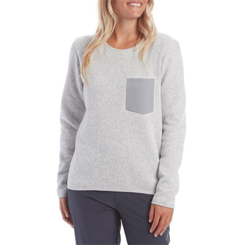 アークテリクス レディース ニット・セーター アウター Arc'teryx Covert Sweater - Women's Athena Grey Heather
