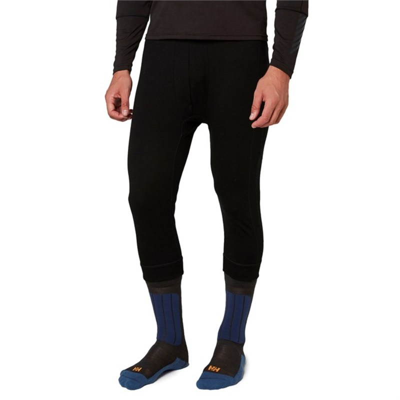 ヘリーハンセン メンズ カジュアルパンツ ボトムス Helly Hansen Lifa Merino 3/4 Boot Top Pants Black