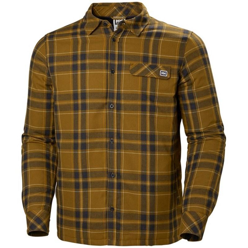 ヘリーハンセン メンズ シャツ トップス Helly Hansen LifaLoft? Insulated Flannel Shirt Marmalade Plaid