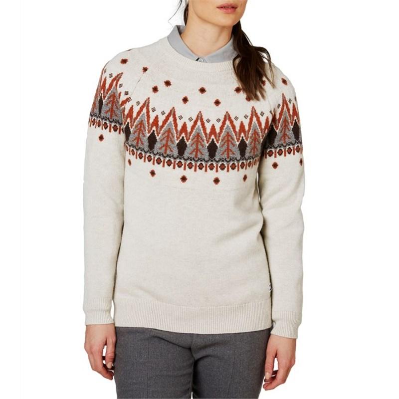 ヘリーハンセン レディース ニット・セーター アウター Helly Hansen Wool Knit Sweater - Women's Off White