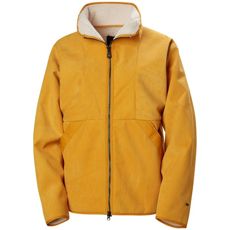 ヘリーハンセン レディース コート アウター Helly Hansen Beloved Cord Jacket - Women's Golden Glow