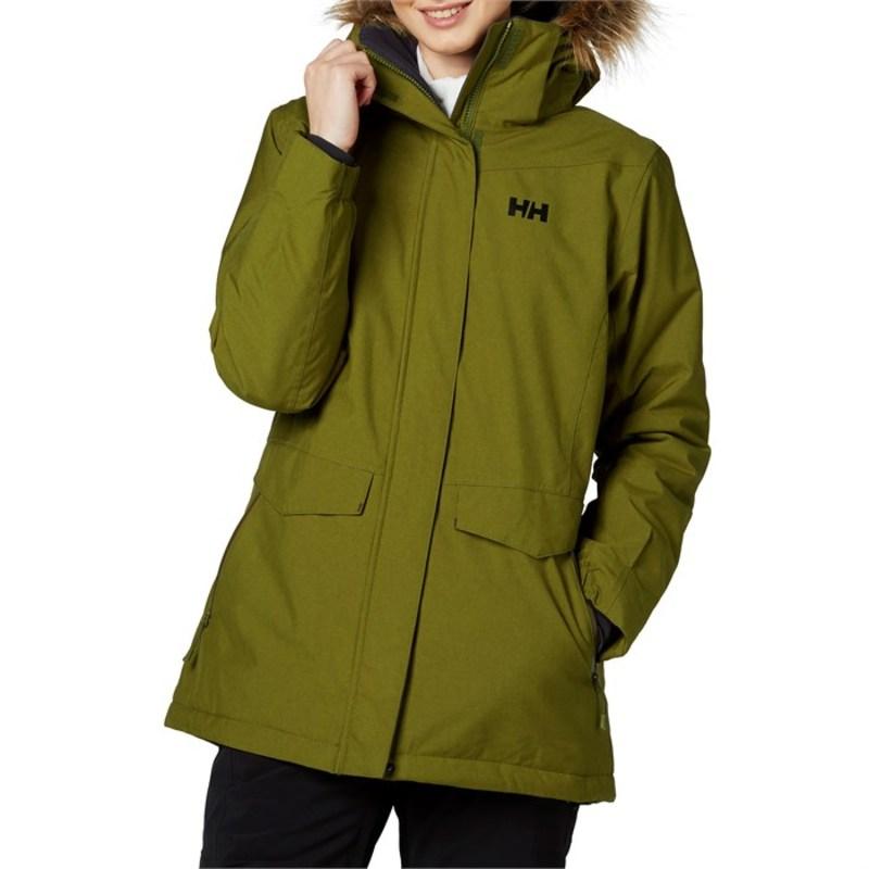 ヘリーハンセン レディース ジャケット・ブルゾン アウター Helly Hansen Snowbird Jacket - Women's Fir Green