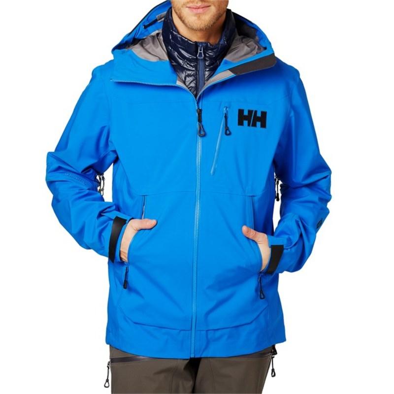 ヘリーハンセン メンズ ジャケット・ブルゾン アウター Helly Hansen Odin Mountain 3L Shell Jacket Electric Blue