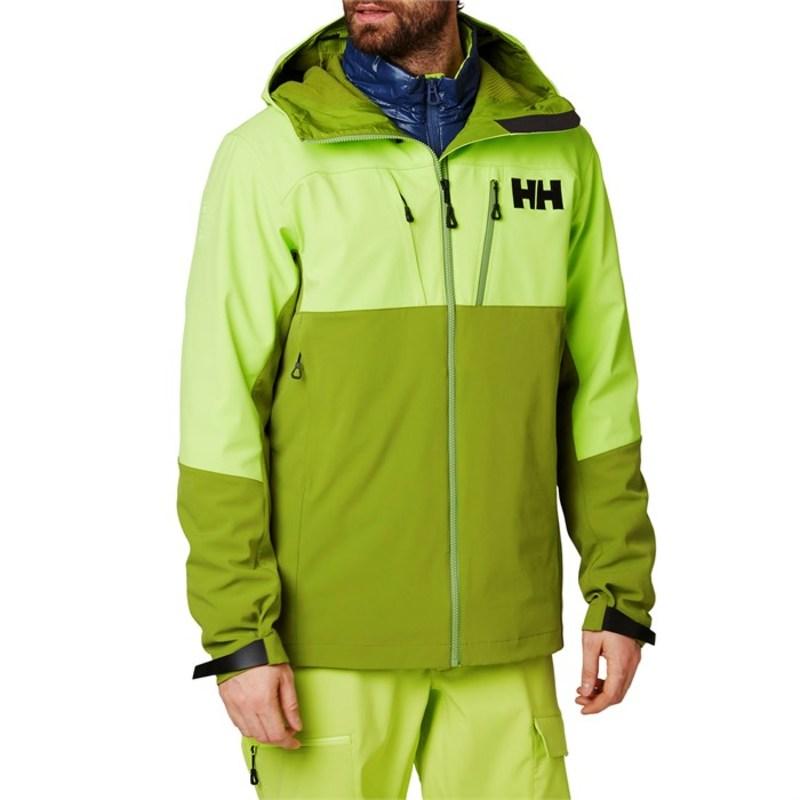 ヘリーハンセン メンズ ジャケット・ブルゾン アウター Helly Hansen Odin Mountain Softshell Jacket Wood Green