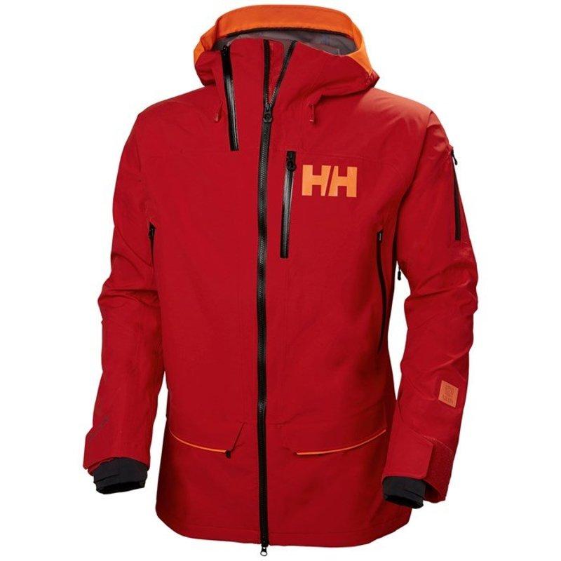 ヘリーハンセン メンズ ジャケット・ブルゾン アウター Helly Hansen Ridge Shell 2.0 Jacket Alert Red