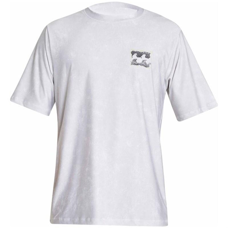 ビラボン メンズ トップのみ 水着 Riot Short Sleeve Surf Shirt Black