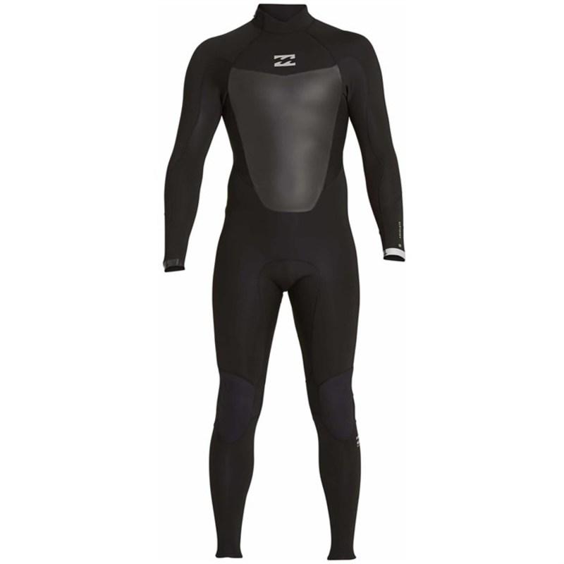ビラボン メンズ 上下セット 水着 4/3 Absolute Comp GBS Back Zip Wetsuit Black