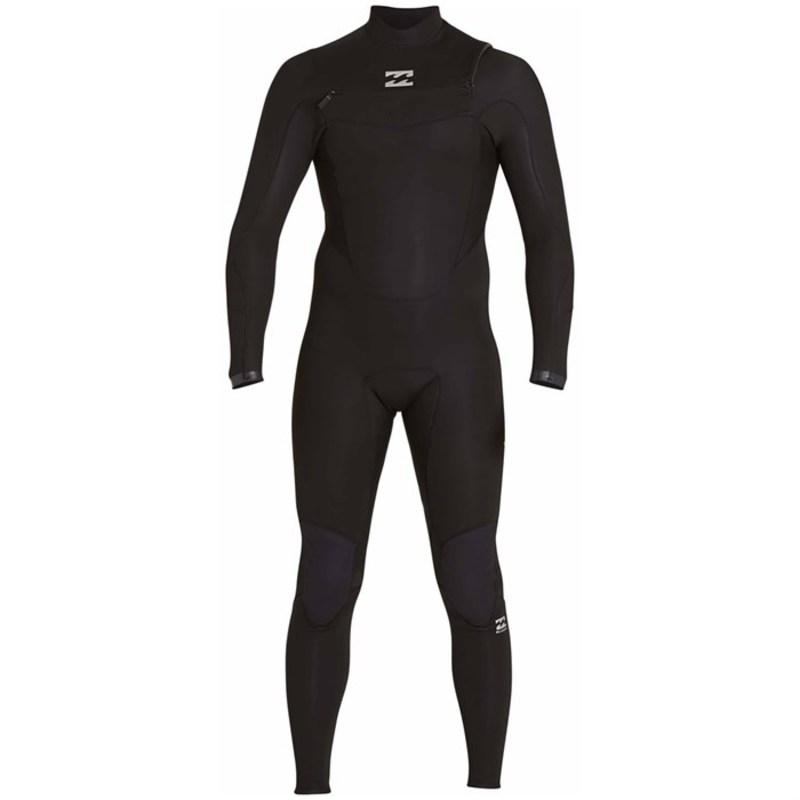 ビラボン メンズ 上下セット 水着 3/2 Absolute Comp GBS Chest Zip Wetsuit Black