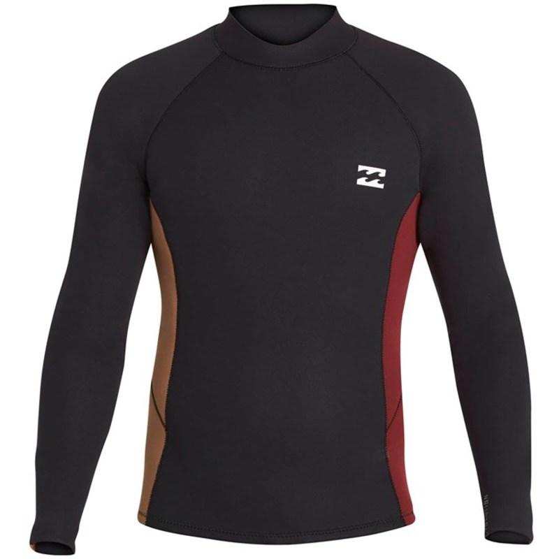 ビラボン メンズ トップのみ 水着 2/2 Revolution Interchange Wetsuit Jacket Black