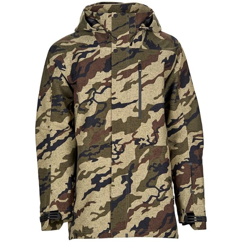ボンファイヤー メンズ ジャケット・ブルゾン アウター Aspect 3L Jacket Khaki Camo