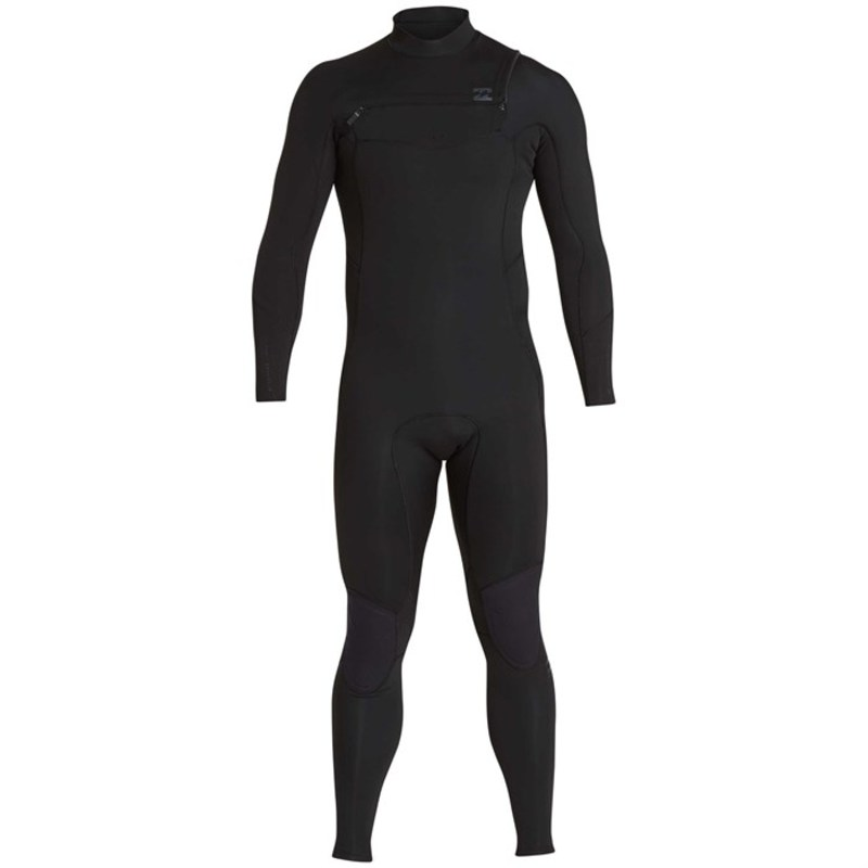 ビラボン メンズ 上下セット 水着 4/3 Furnace Absolute Comp Chest Zip Wetsuit Black