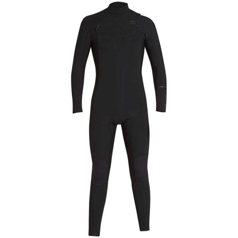 ビラボン メンズ 上下セット 水着 3/2 Furnace Revolution Chest Zip Wetsuit Black