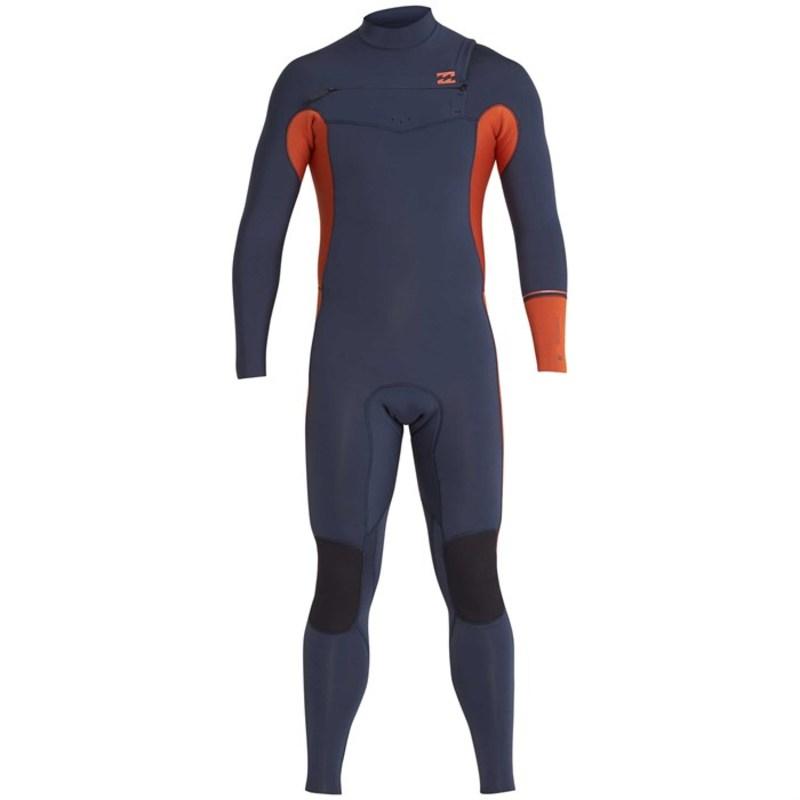 ビラボン メンズ 上下セット 水着 3/2 Furnace Revolution Chest Zip Wetsuit Slate