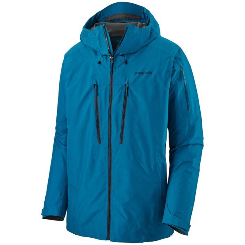 パタゴニア メンズ ジャケット・ブルゾン アウター Patagonia PowSlayer Jacket Balkan Blue