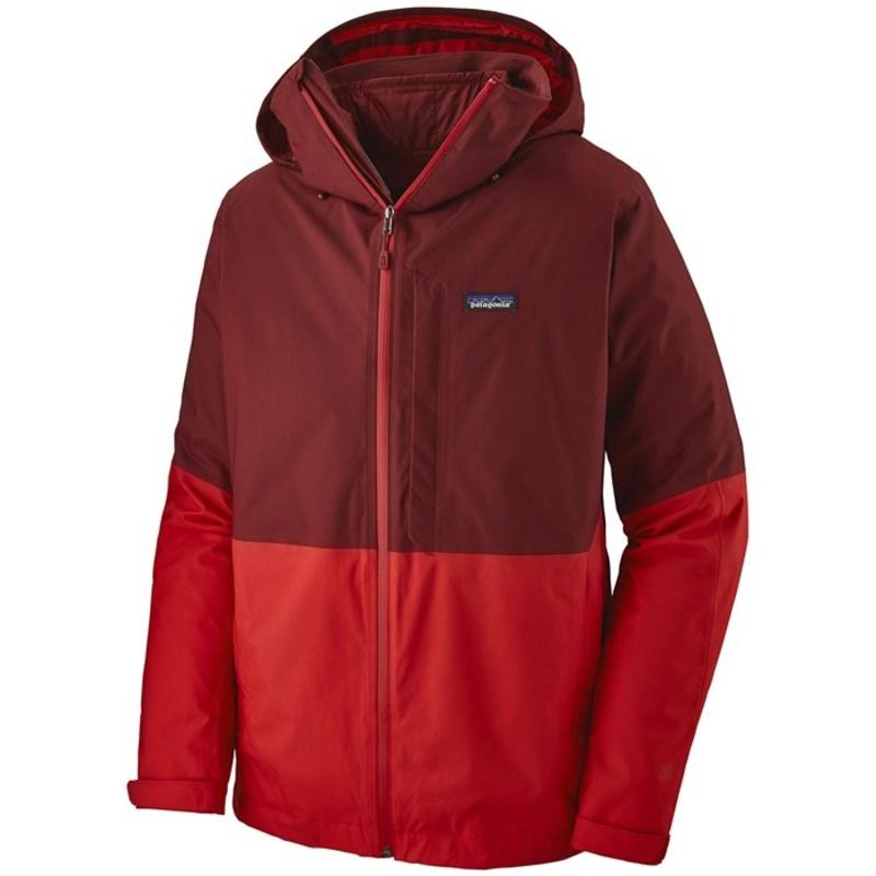 パタゴニア メンズ ジャケット・ブルゾン アウター Patagonia 3-in-1 Snowshot Jacket Oxide Red
