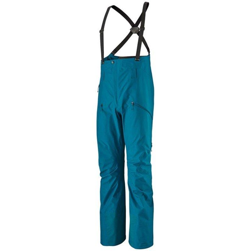 パタゴニア メンズ カジュアルパンツ ボトムス Patagonia PowSlayer Bib Pants Balkan Blue