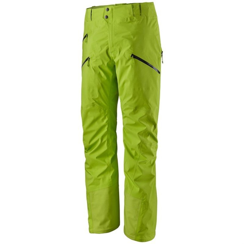 パタゴニア メンズ カジュアルパンツ ボトムス Patagonia PowSlayer Pants Peppergrass Green
