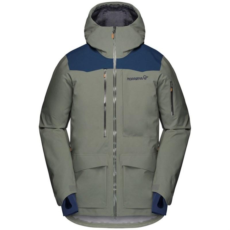 当店だけの限定モデル ノローナ Grey メンズ ジャケット・ブルゾン アウター Norrona Norrona Tamok Tamok GORE-TEX Pro Jacket Castor Grey:ReVida 店, ハワイアンハウス:6cce65ff --- nagari.or.id
