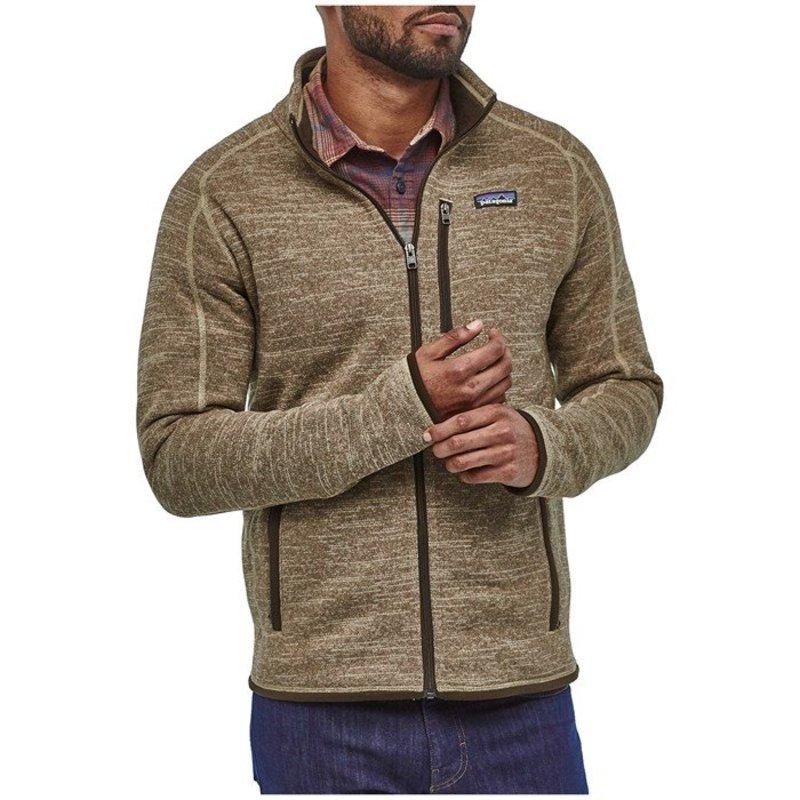 パタゴニア メンズ ジャケット・ブルゾン アウター Patagonia Better SweaterR Jacket Pale Khaki