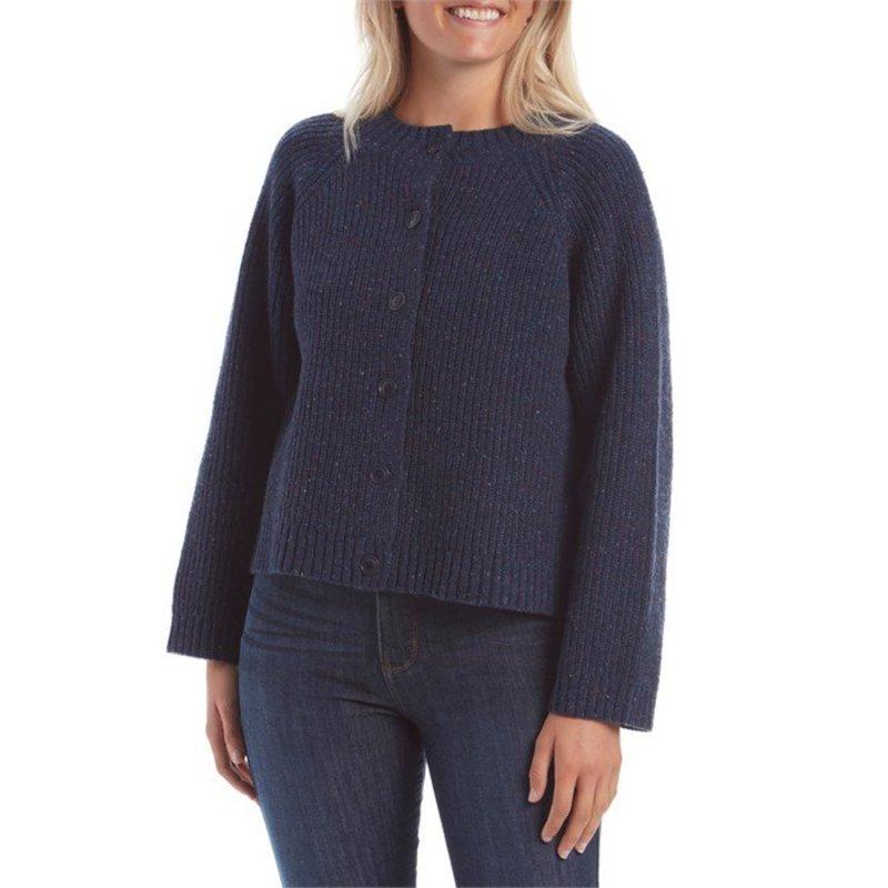モラスク レディース ニット・セーター アウター Mollusk Amelia Cardigan Sweater - Women's Navy