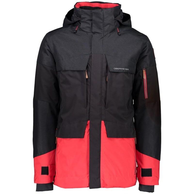 オバマイヤー メンズ ジャケット・ブルゾン アウター Obermeyer Scout Jacket Black
