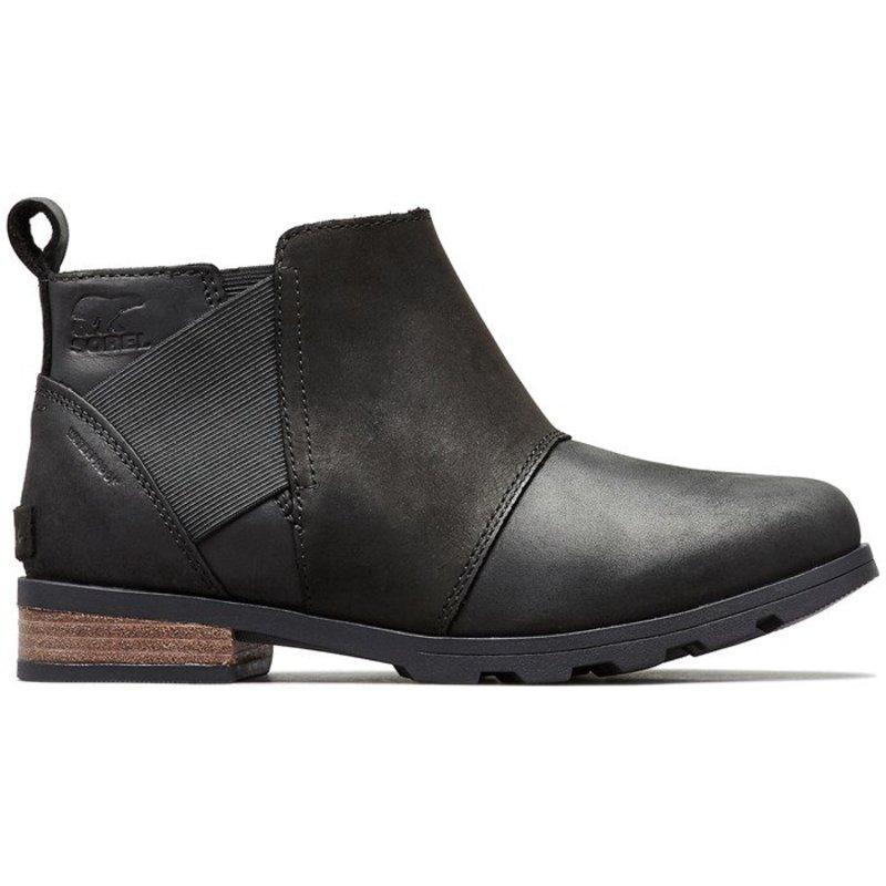 ソレル レディース ブーツ・レインブーツ シューズ Sorel Emelie Chelsea Boots - Women's Black