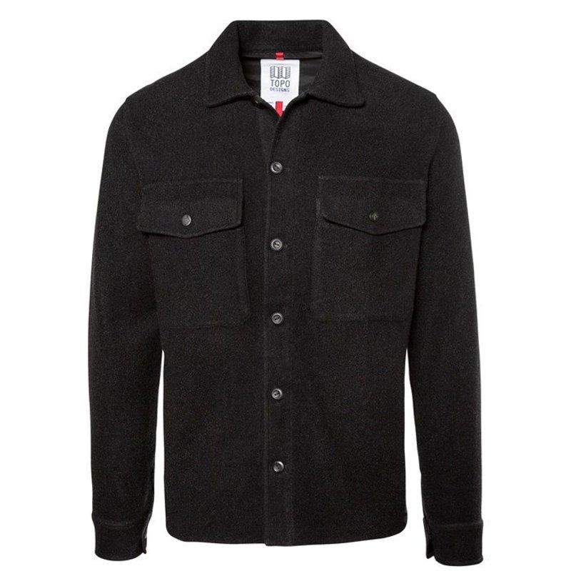 トポ・デザイン メンズ シャツ トップス Topo Designs Wool Shirt Black