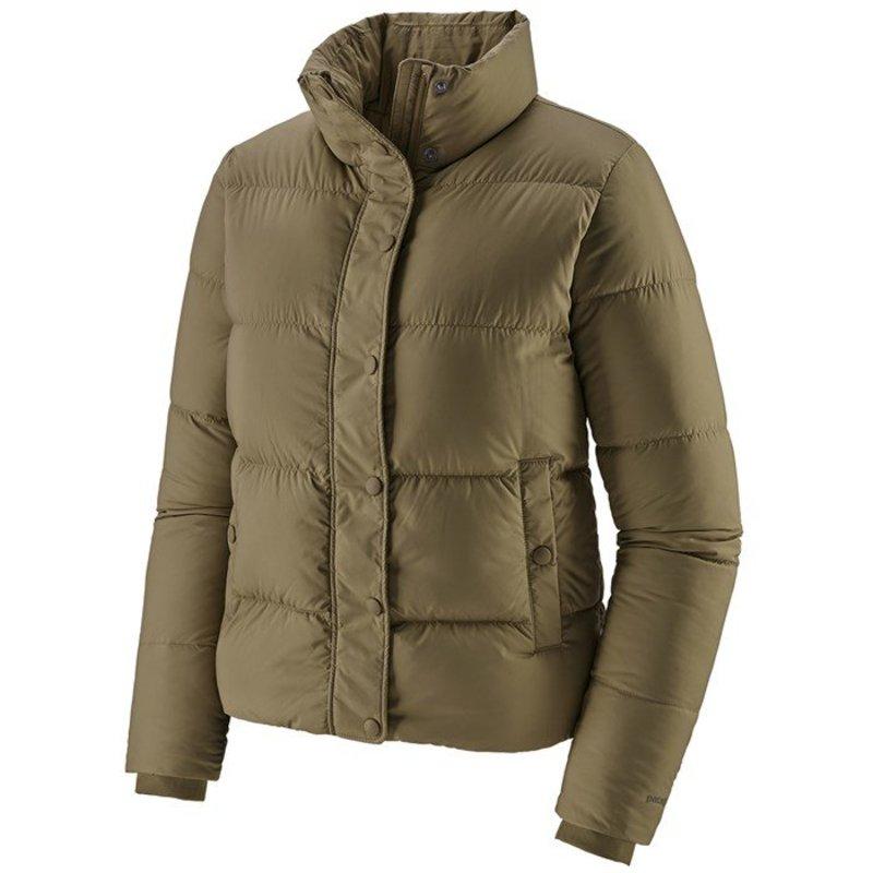 パタゴニア レディース ジャケット・ブルゾン アウター Patagonia Silent Down Jacket - Women's Sage Khaki