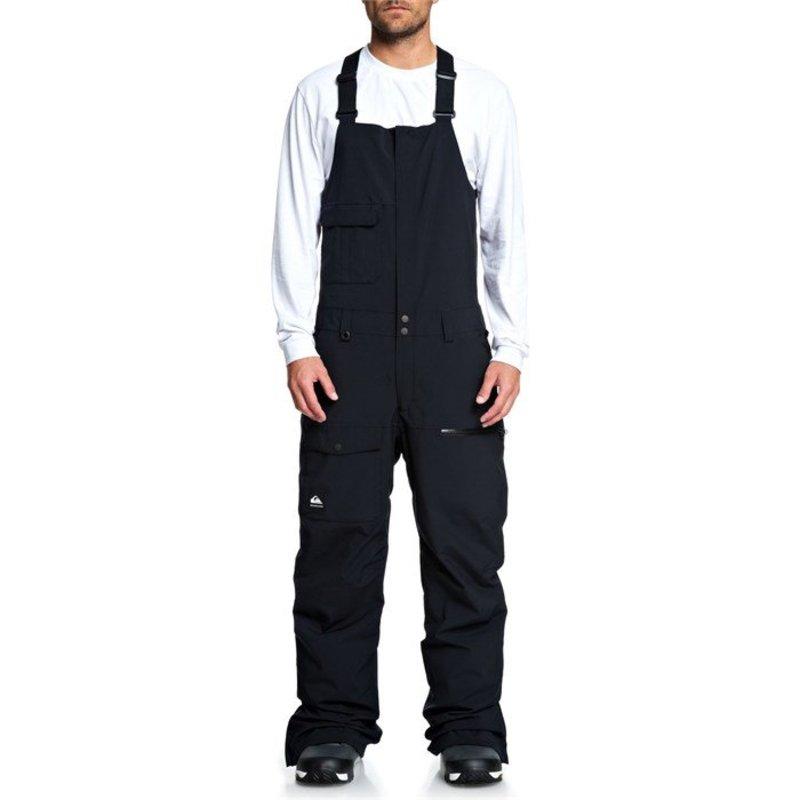 クイックシルバー メンズ カジュアルパンツ ボトムス Quiksilver Utility Bibs Black