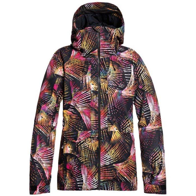 ロキシー レディース ジャケット・ブルゾン アウター Roxy GORE-TEX 2L Essence Jacket - Women's True Black Night Palm