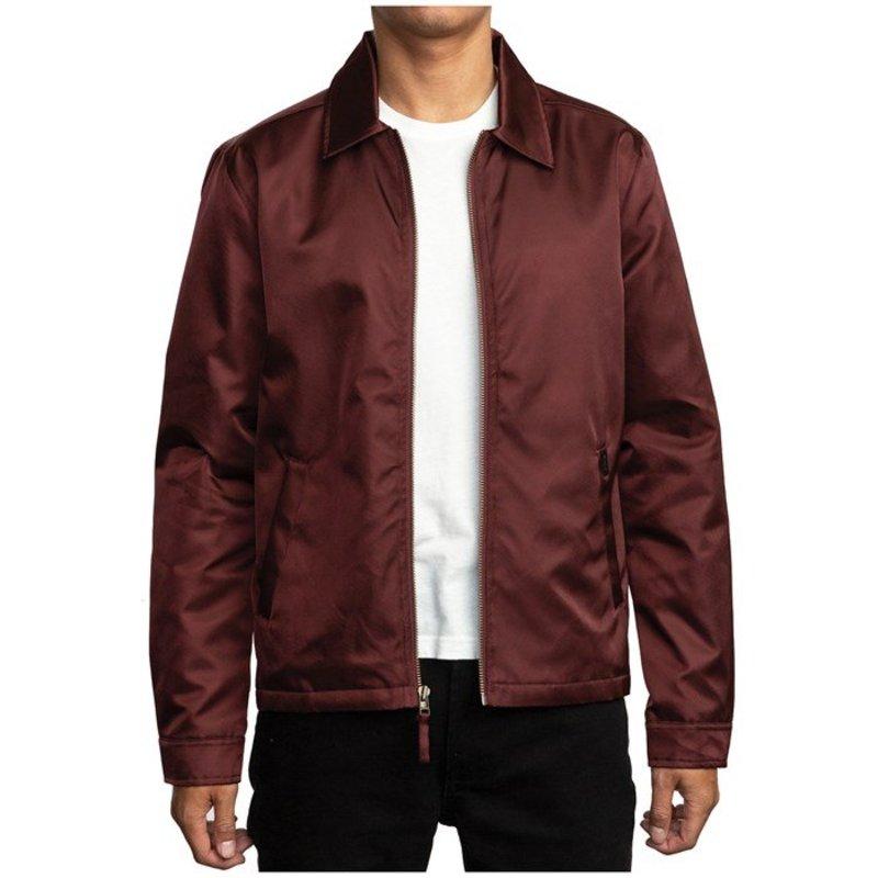 ルーカ メンズ ジャケット・ブルゾン アウター RVCA Supply Jacket Bordeaux
