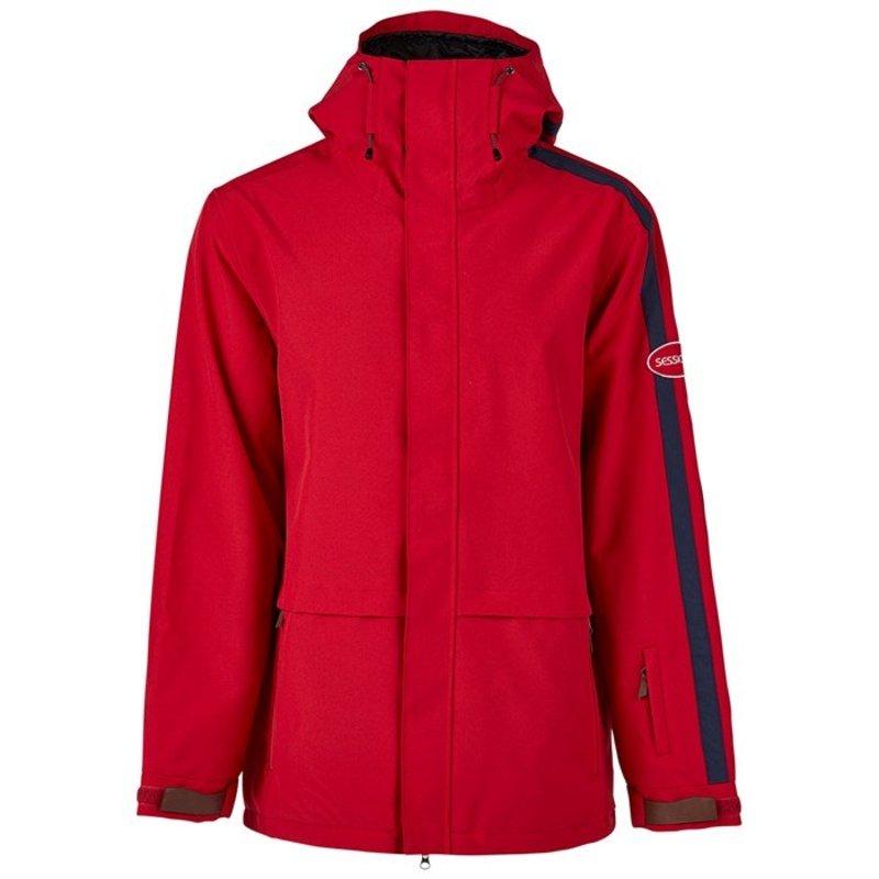 セッションズ メンズ ジャケット・ブルゾン アウター Sessions Scout Jacket Deep Red