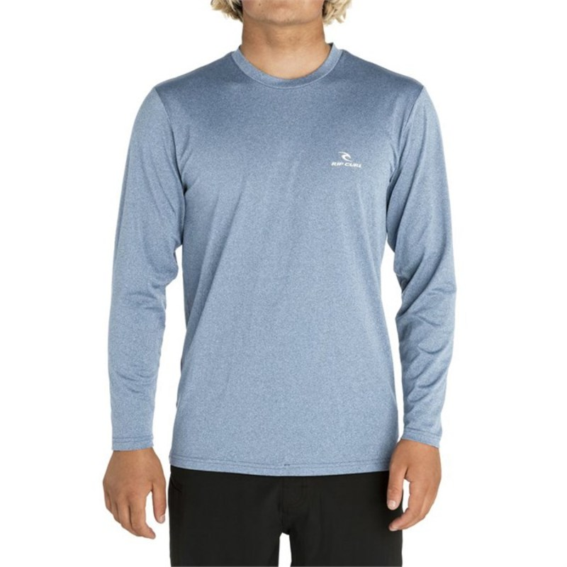 リップカール メンズ トップのみ 水着 Rip Curl Search Series Long Sleeve Rashguard Blue