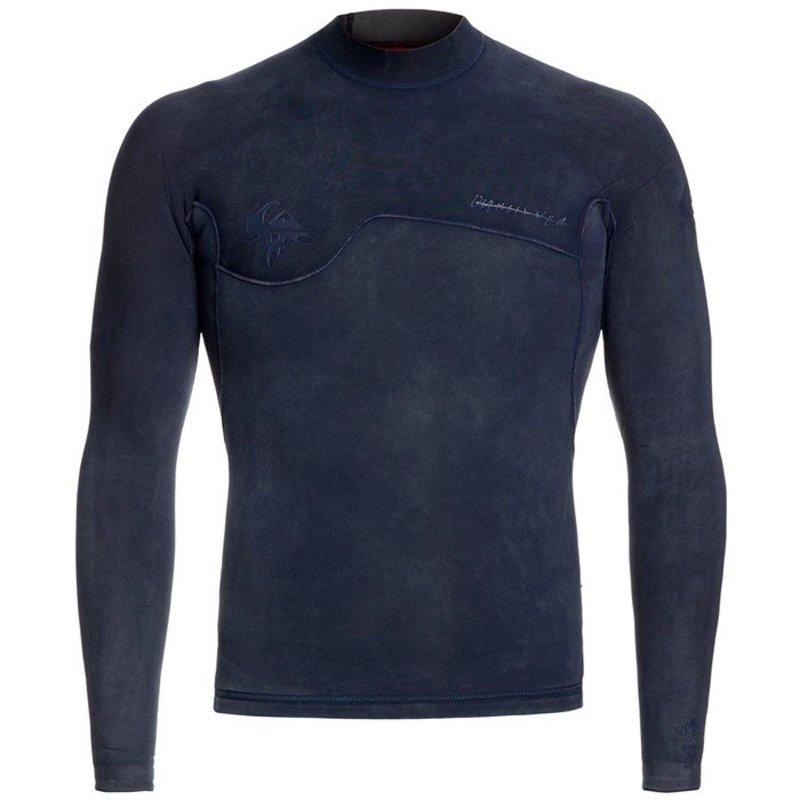 クイックシルバー メンズ 上下セット 水着 Quiksilver 1.5mm Originals Monochrome Wetsuit Top Navy