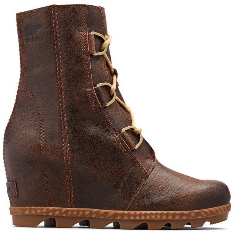 ソレル レディース ブーツ・レインブーツ シューズ Sorel Joan of Arctic Wedge II Boots - Women's Burro