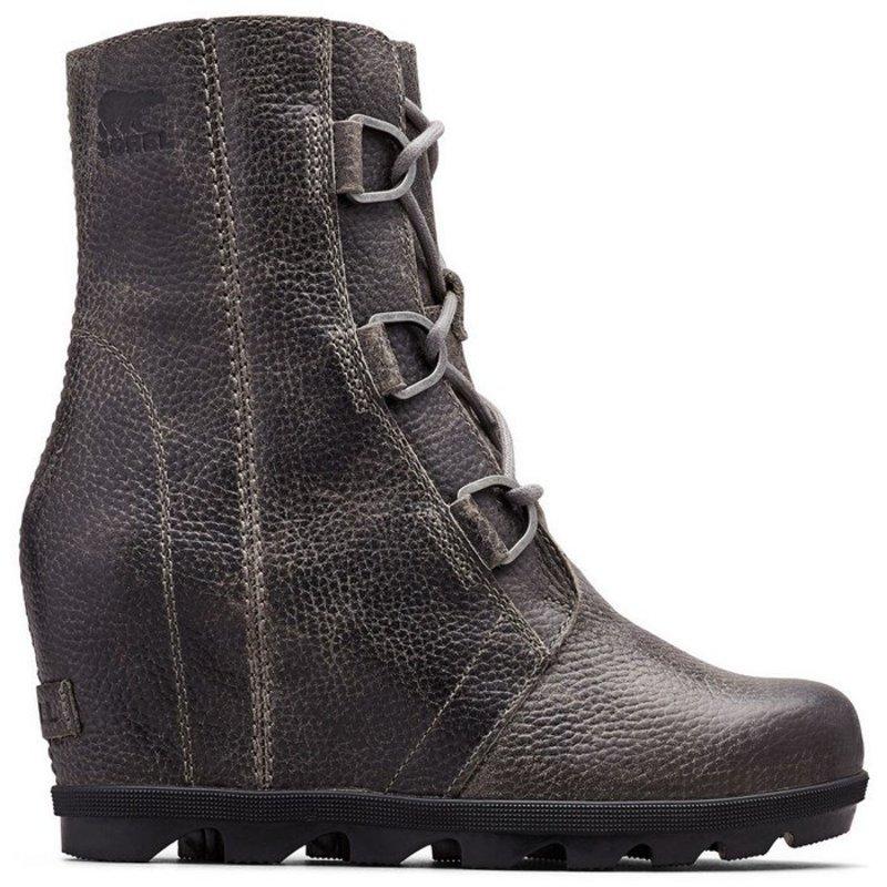ソレル レディース ブーツ・レインブーツ シューズ Sorel Joan of Arctic Wedge II Boots - Women's Quarry