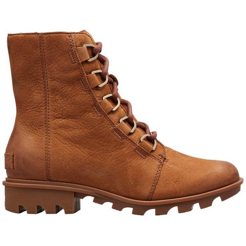 ソレル レディース ブーツ・レインブーツ シューズ Sorel Phoenix Short Lace Boots - Women's Camel Brown