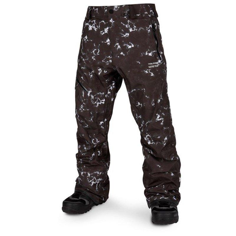 ボルコム メンズ カジュアルパンツ ボトムス Volcom L GORE-TEX Pants Black Print
